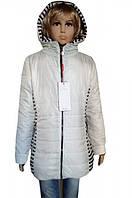 Стильная подростковая куртка для девочек на 9-15 л