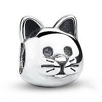 "Шарм бусина №868 ""Кошка"" для браслета Пандора PANDORA (Серебро)"