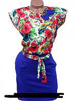 Стильное женское платье в деловом стиле 42, 44