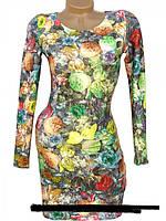 Яркое летнее платье из масла - 40-42, 42-44