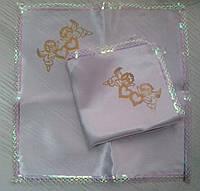 Свадебные платочки (атлас, печать) № 1