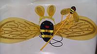 """Набір """" Бджілка"""" ( крила, обруч, паличка) 62*22 см"""