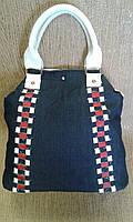 Женская сумка джинсовая  красивая TOMY (Турция)