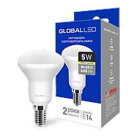 LED лампа GLOBAL(MAXUS) R50 5W теплый свет E14