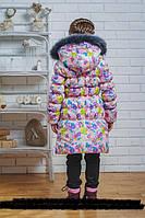 Пальто зимнее  для девочки 116, 122, 128, 134