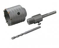Сверло корончатое для бетона  80 мм 10 зубцов с хвостовиком 22*110 мм SDS-PLUS GRANITE