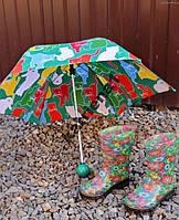 Яркий и качественный детский зонт Котята