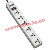 Сетевой фильтр Tripp Lite 230V 50/ 60Hz, Universal outlets & CEE 7/ 7 plug (SUPER6OMNID)