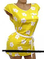 Стильные блузки в цветки  42, 44, 46, 48