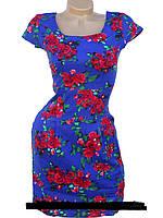 Летнее платье из стрейч-льна  44