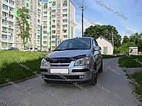 Мухобойка-дефлектор Hyundai Getz 2002-2005