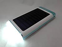 Solar Power Bank  UKC 15000mAh Smart - портативное зарядное устройство, солнечная батарея, фонарь