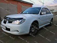 Мухобойка-дефлектор Subaru Impreza II 2005-2007