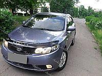 Мухобойка-дефлектор Kia Cerato II 2009-2013