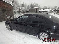Ветровики-дефлекторы BMW E46 1998-2007 седан