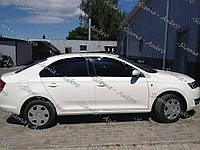 Ветровики-дефлекторы Skoda Rapid 2012-н.в.
