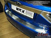 Накладка бампера Ford Focus III 2011-н.в. седан