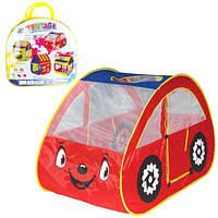 """Детская палатка M 2502 """"Машина"""". Размер: 131-75-81см"""