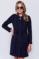 Женское классическое осеннее пальто с поясом