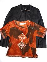 Пиджак и футболка женские 14 р.