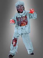 Детский костюм для образа зомби, на Хэллоуин