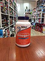 Омега 3 NOW  Omega 3 200 softgels