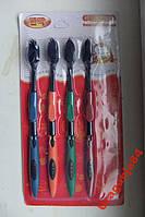 Набор зубных щёток 4шт