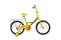 """Велосипед Formula Fitness 14G St 18"""" 2015 (сине-желтый)"""
