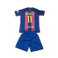 Детская футбольная форма Барселона Neymar #11 16/17 1710-11