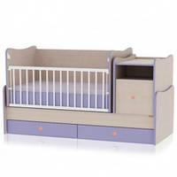 Детская кровать Bertoni Trend Plus oakviolet