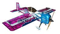 Самолёт на радиоуправлении Precision Aerobatics Addiction XL 1500мм KIT (фиолетовый)