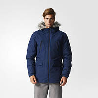 Зимняя куртка мужская с капюшоном Adidas Filled Fur-Trim AP9550 - 2016/2