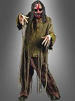 Карнавальный костюм на Хэллоуин с кровавой маской