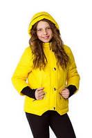 Куртка для девочки демисезонная Верона на рост 134 см, цвета в ассорт.