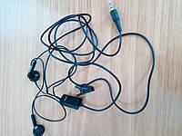 Наушники-гарнитура Nokia оригинал б/у 2.5мм