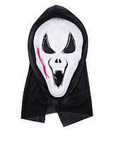 Маска Крик   - пластиковая с капюшеном - маска на Хэллоуин!