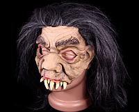Страшная маска с париком  - маска на Хэллоуин!
