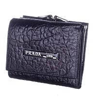 Кошелек женский кожаный Prada P8 808-10974 черный