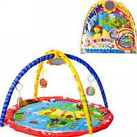 Игровой коврик для малыша с дугами (898-209 В)