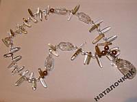 Ожерелье из горного хрусталя