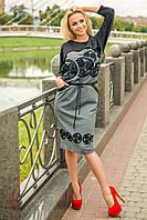 Женское платье из французского трикотажа от производителя | Весна-Осень