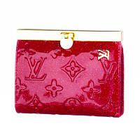 Кошелек женский кожаный Louis Vuitton LV-8436 B красный