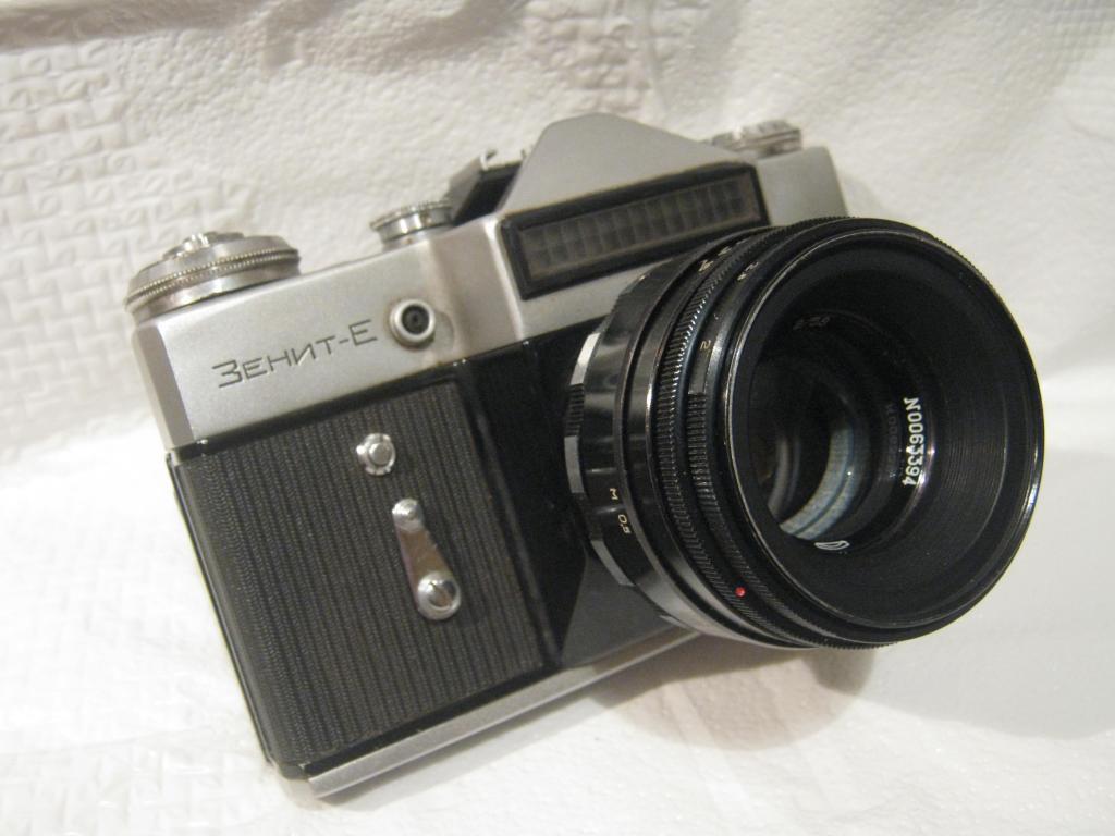 Фотоаппарат ЗЕНИТ-Е  1966 года