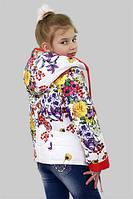 Куртка для девочки демисезонная Мальва на рост 146 см, цвета в ассорт.
