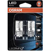 W21w Лампочки в стопы  OSRAM LED  Retrofit STANDARD W21W LED 12V 3W W3X16D (T20 SC Красная 7705R-02B
