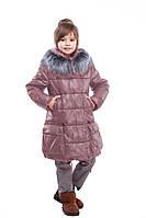 Зимнее пальто для девочки Малика