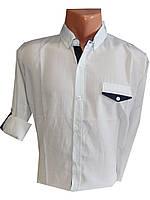 Рубашка мужская трансформер однотонная