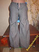 Фирм.теплые офисные брюки на осень р.XS-S
