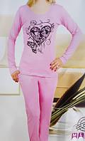 Пижама женская штаны  хлопок 1152