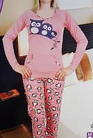 Пижама женская штаны  хлопок 1155